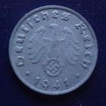 1  пфенниг  1941  D  Германия   (Г.1.14)~, фото №2
