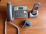 Телефон DECT Panasonic KX-TCD530 (трубка+база), фото №2