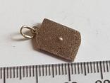 Советский кулон. Серебро 875 проба. Камень., фото №5