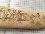 Старинный  кинжал из бивня, фото №5