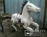 Конь Педальный.Лошалка Каталка лот из 2шт., фото №5