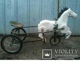 Конь Педальный.Лошалка Каталка лот из 2шт., фото №2