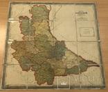 Дореволюционная карта Киевский губернии 1909 года, фото №2
