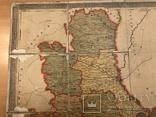 Дореволюционная карта Киевский губернии 1909 года, фото №3