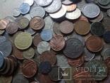 Супер- Гора монет с нашими и зарубежными (617 штук.) фото 2