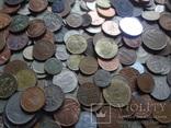 Супер- Гора монет с нашими и зарубежными (617 штук.) фото 3