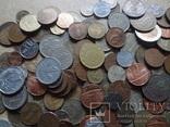 Супер- Гора монет с нашими и зарубежными (617 штук.) фото 4