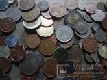 Супер- Гора монет с нашими и зарубежными (617 штук.) фото 5