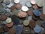 Супер- Гора монет с нашими и зарубежными (617 штук.) фото 6