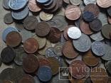 Супер- Гора монет с нашими и зарубежными (617 штук.) фото 7