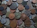 Супер- Гора монет с нашими и зарубежными (617 штук.) фото 8