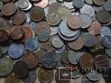 Супер- Гора монет с нашими и зарубежными (617 штук.) фото 11