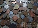 Супер- Гора монет с нашими и зарубежными (617 штук.) фото 12
