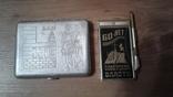 Портсигар БАМ +Записная книжка с ручкой 60 лет Сов.Власти, фото №3