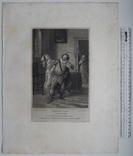 """Старинная гравюра. Шекспир. """"Двенадцатая ночь, или Что угодно?"""". 1803 год. Оригинал. фото 5"""