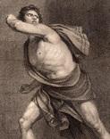 """Старинная гравюра. Шекспир. """"Жизнь Тимона Афинского"""". 1803 год. (42 на 32 см.). Оригинал. фото 2"""