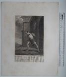 """Старинная гравюра. Шекспир. """"Жизнь Тимона Афинского"""". 1803 год. (42 на 32 см.). Оригинал. фото 5"""