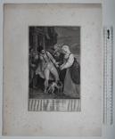 "Старинная гравюра. Шекспир. ""Комедия ошибок"", акт IV. 1803 год. (42 на 32 см.). Оригинал. фото 5"