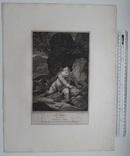 """Старинная гравюра. Шекспир. """"Генрих IV, часть 1"""". 1803 год. (42 на 32 см.). Оригинал. фото 5"""