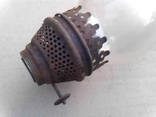 Стекло (и коронка) для керосиновой лампы ( из ссср), фото №3