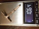 Фибула   серебро 10.6 грамм, фото №8