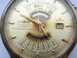 Orient Automatic 21 Jewels Multi-year Calendar, фото №6