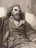 """Старинная гравюра. Шекспир. """"Генрих IV, часть 2"""". 1803 год. (42 на 32 см.). Оригинал. фото 3"""