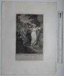 """Старинная гравюра. Шекспир. """"Троил и Крессида"""". 1803 год. (42 на 32 см.). Оригинал. фото 5"""