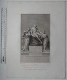 Старинная гравюра. Шекспир. Введение. 1803 год. (42 на 32 см.). Оригинал. фото 5