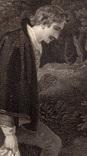 """Старинная гравюра. Шекспир. """"Как вам это понравится"""". 1803 год. (42 на 32 см.). Оригинал. фото 3"""