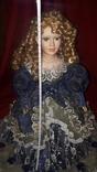 Кукла фарфор (на подставке), фото №7