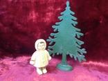 Чукча эскимос у елки, фото №2
