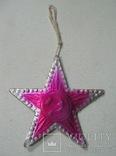 Елочная игрушка картон Звезда Агитация, фото №2