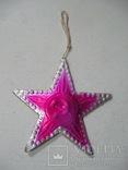 Елочная игрушка картон Звезда Агитация, фото №3