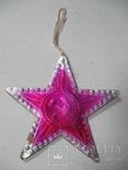 Елочная игрушка картон Звезда Агитация, фото №7