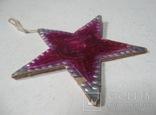 Елочная игрушка картон Звезда Агитация, фото №9