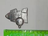 Елочная игрушка пластиковая Ракета СССР, винтаж., фото №3