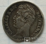 Монета 1/4 франка, 1828 года., фото №3