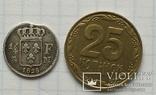 Монета 1/4 франка, 1828 года., фото №5