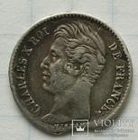 Монета 1/4 франка, 1828 года., фото №9