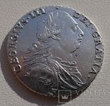 Великобритания 1 шиллинг 1787г. George III. UNC., фото №2