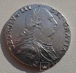 Великобритания 1 шиллинг 1787г. George III. UNC., фото №4