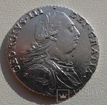 Великобритания 1 шиллинг 1787г. George III. UNC., фото №5