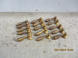 Ручки мебельные бронза 15шт. (242гр.), фото №2
