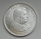 """Словакия 50 крон 1944 """"Словацкая республика"""", серебро, фото №4"""