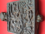 Икона - Энколпион XV век Рождество Христово, Крещение Господне, фото №12