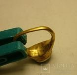 Золотой перстень Хазары конец 8 в.- начало 10 века, фото №12