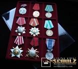 Планшет на 9 наград и медалей + прозрачный футляр MM-Schulz Польша, фото №3