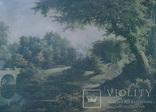 Вид в Павловском парке Репродукция на ткани, фото №4