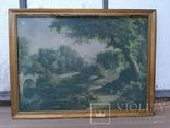 Вид в Павловском парке Репродукция на ткани, фото №6